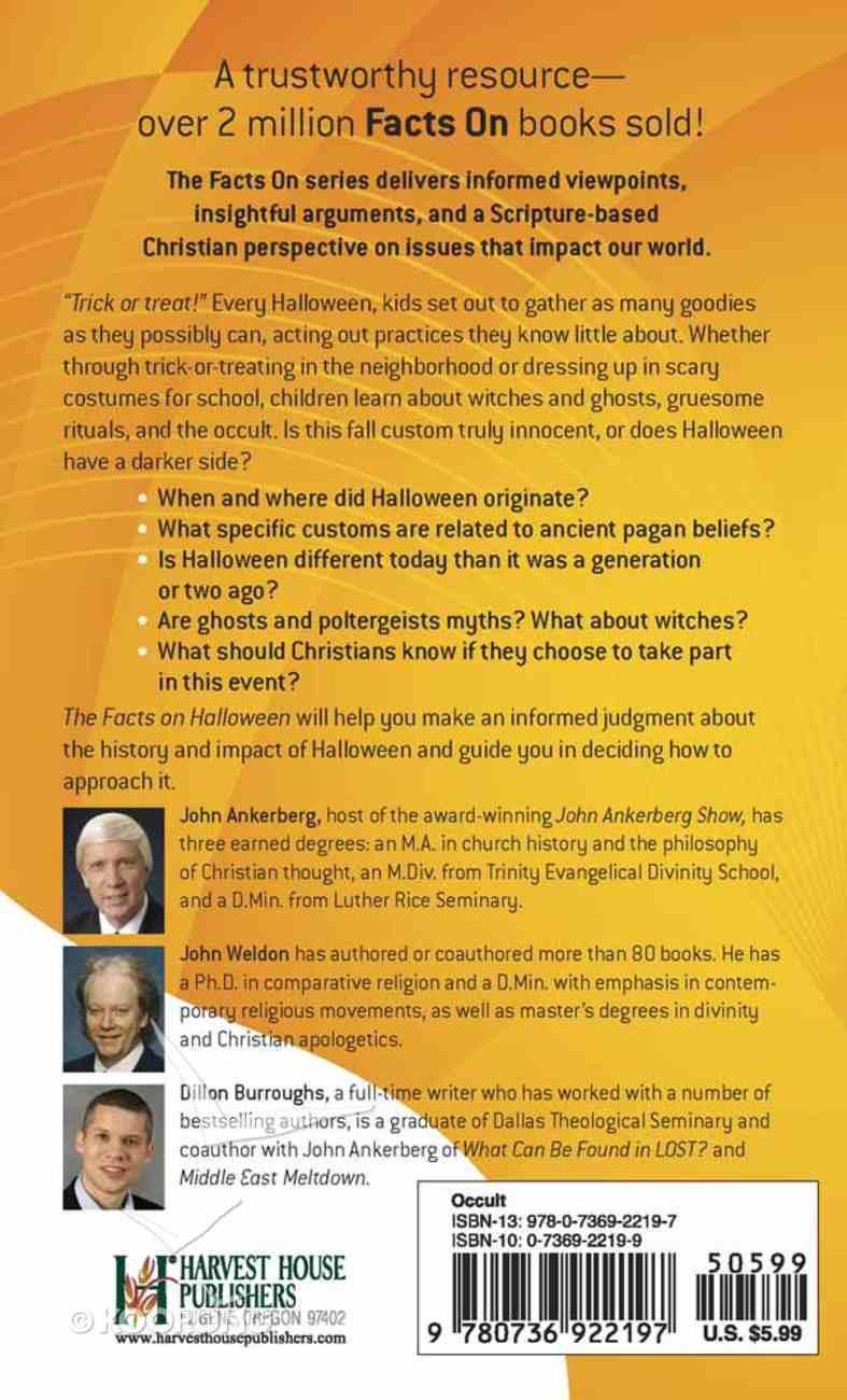 The Facts on Halloween Mass Market