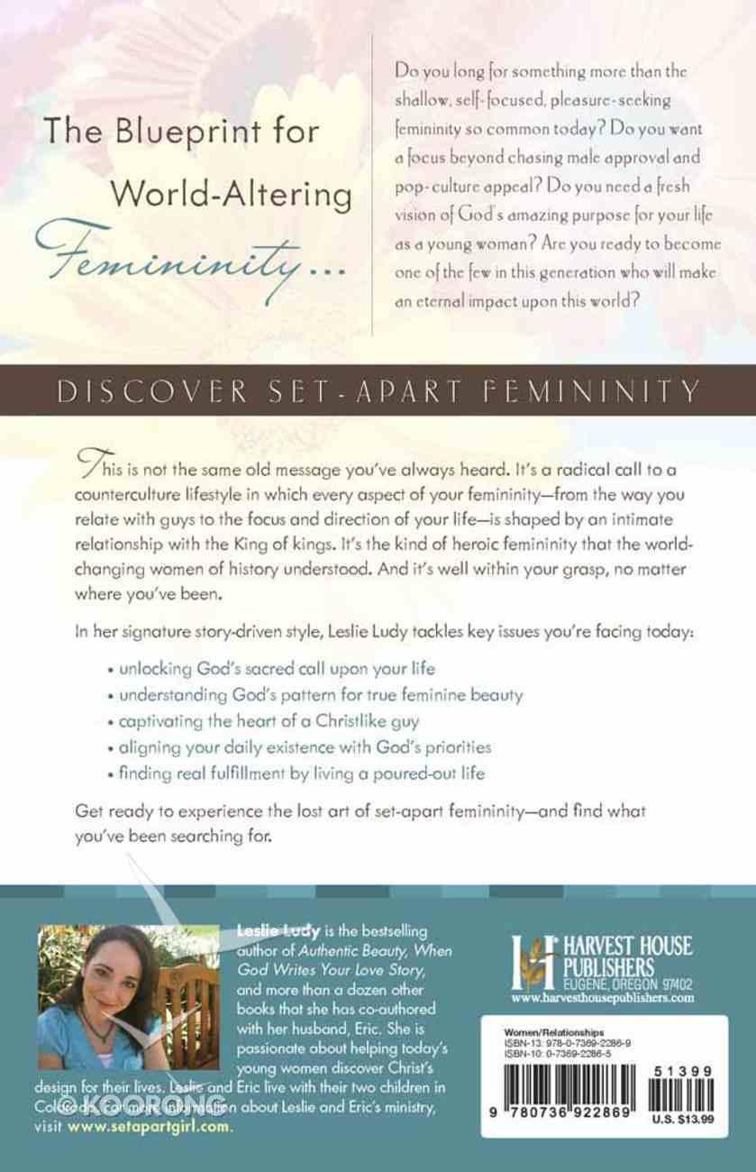 Set-Apart Femininity Paperback