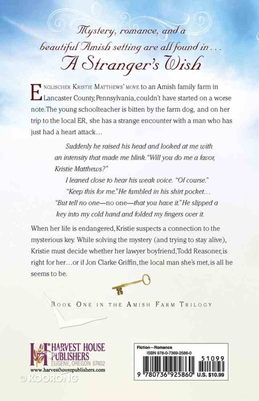 A Stranger's Wish (#01 in Amish Farm Trilogy Series) Paperback