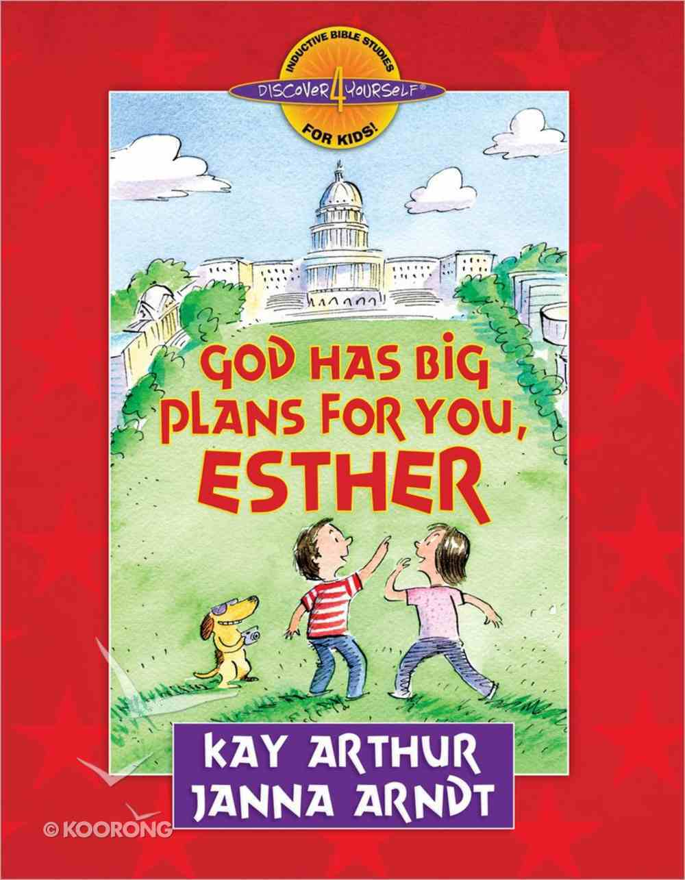 God Has Big Plans For You (Esther) (Discover For Yourself Bible Studies Series) Paperback