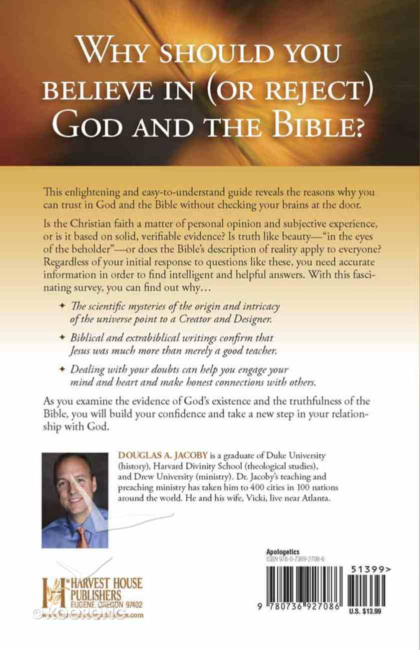 Compelling Evidence For God and the Bible Paperback