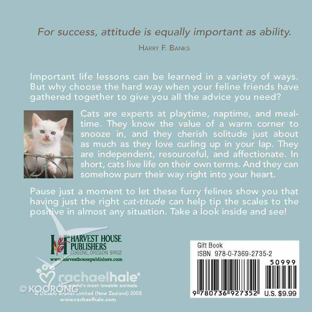 Cat-Titudes to Live By Hardback