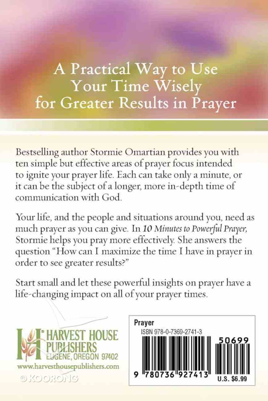 10 Minutes to Powerful Prayer Paperback