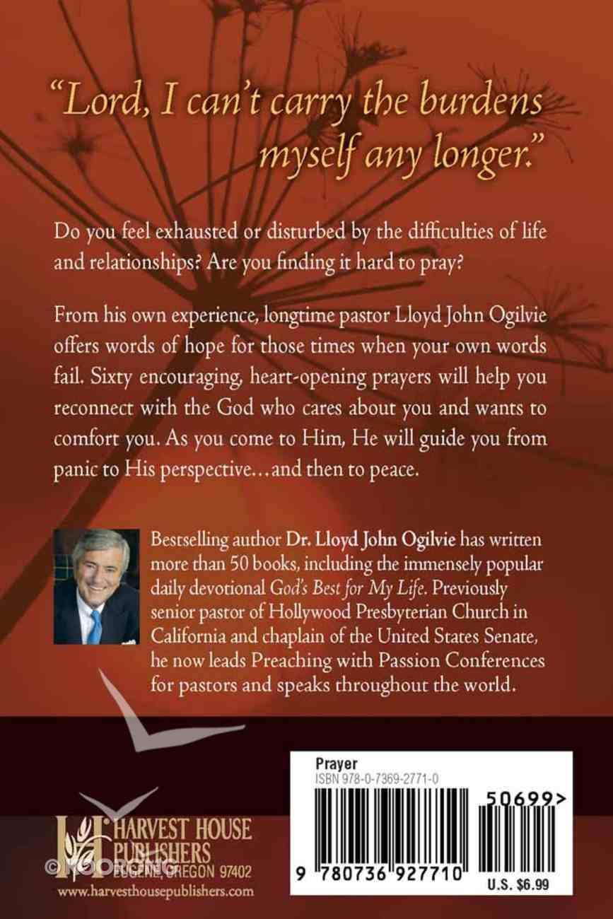 Praying Through the Tough Times Paperback