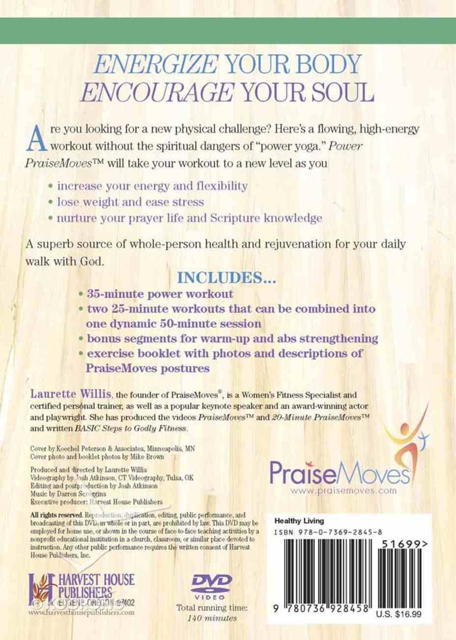 Power Praise Moves DVD