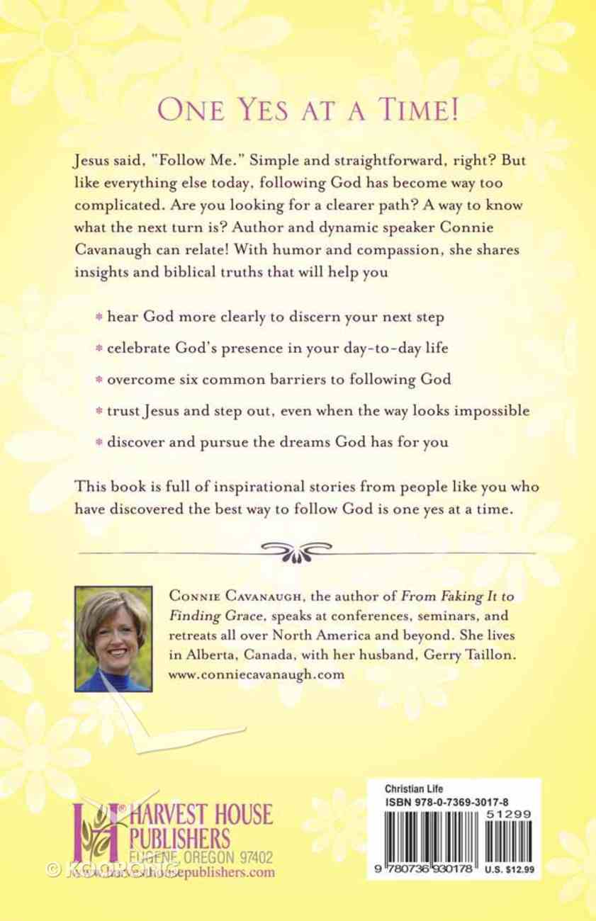 Following God One Yes At a Time Paperback
