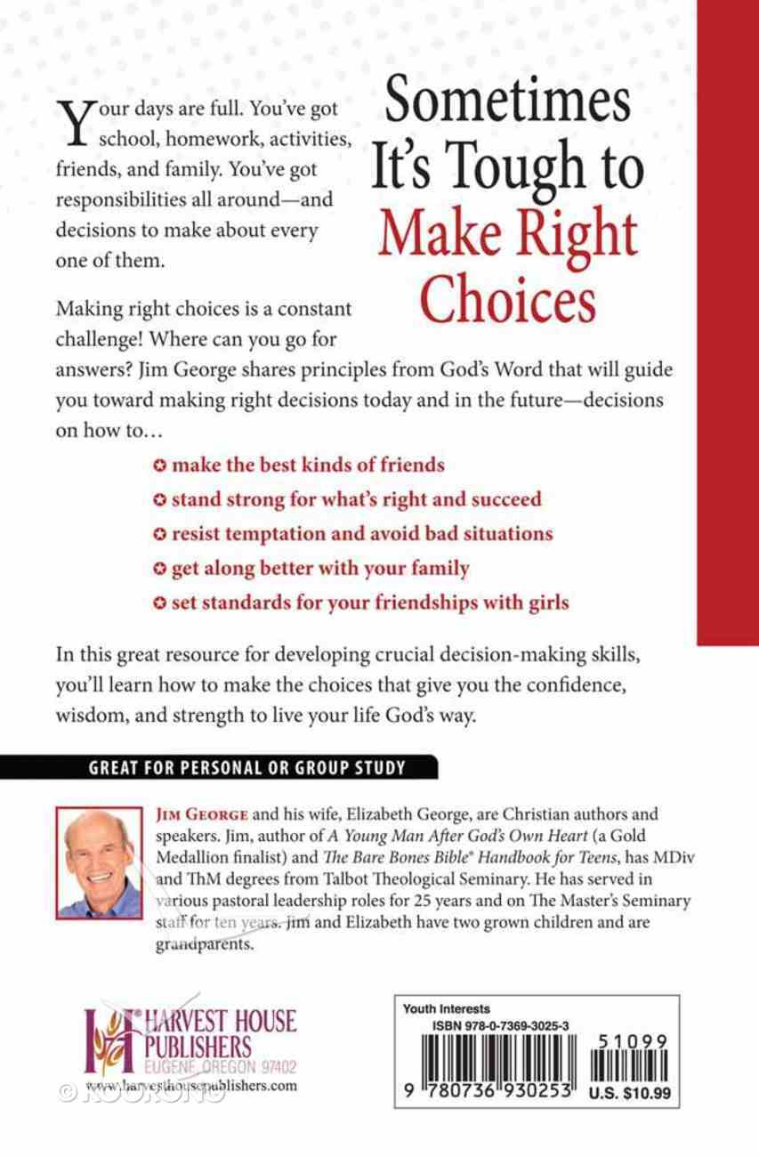 A Young Man's Guide to Making Right Choices Paperback
