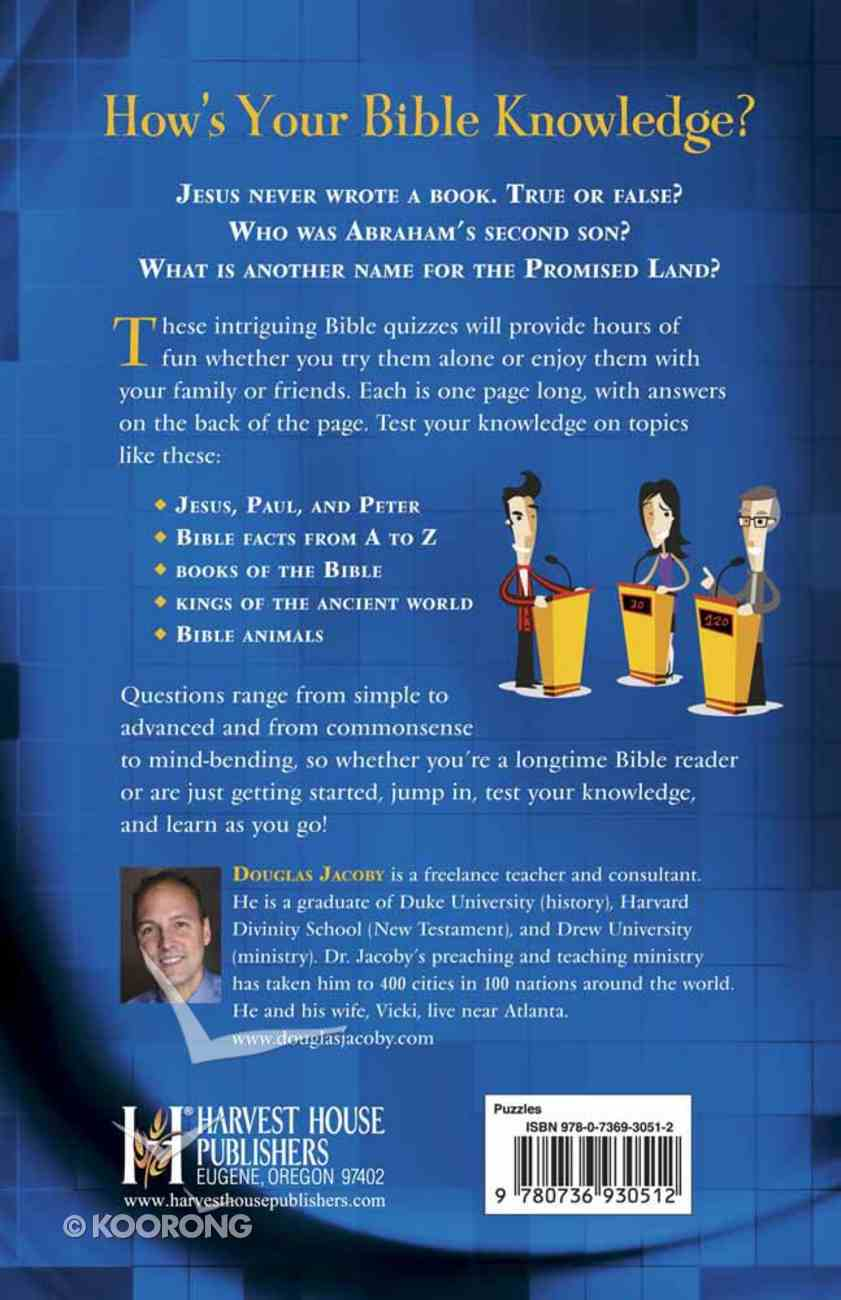 The Ultimate Bible Quiz Book Paperback