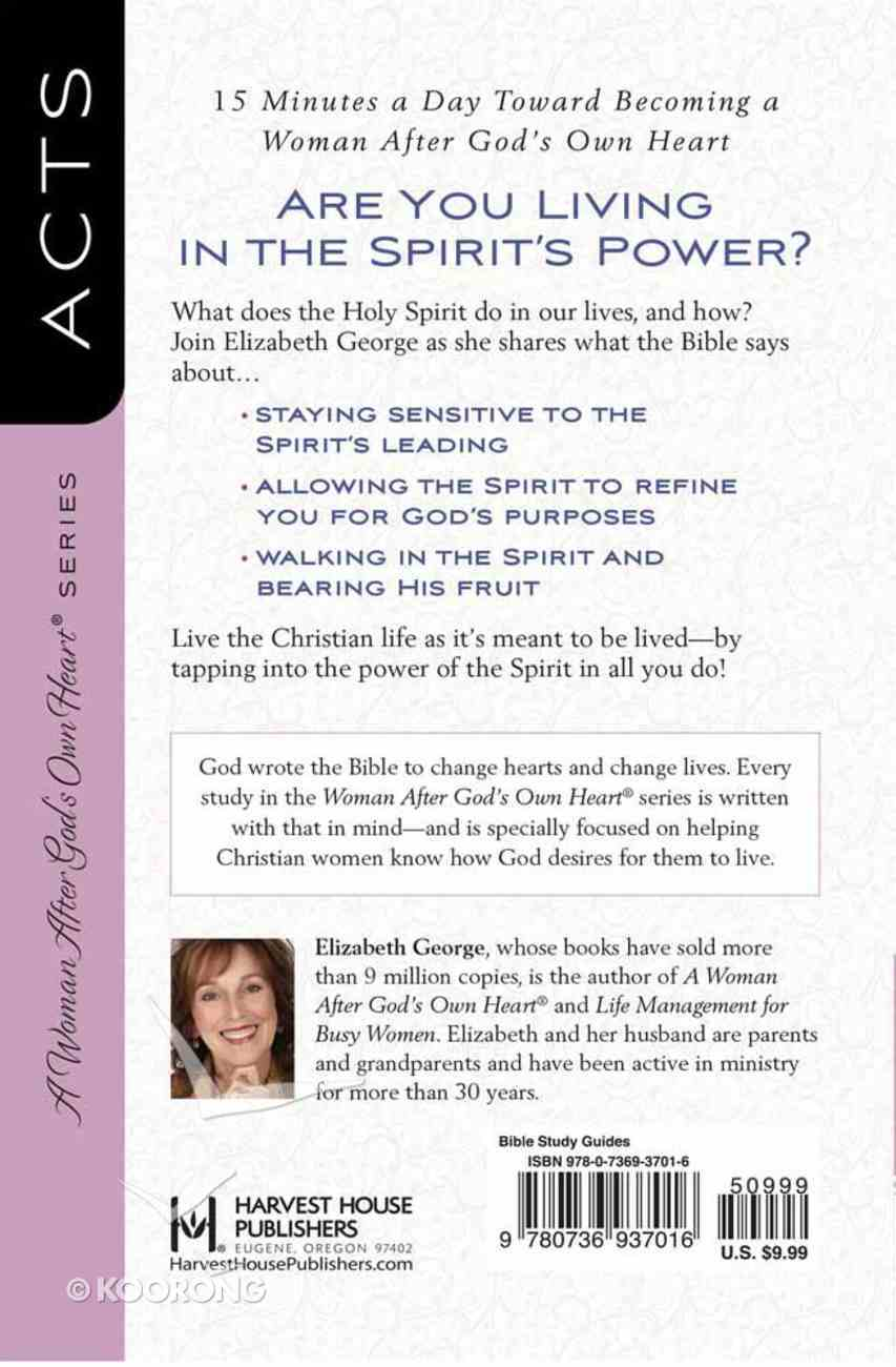 Relying on the Power of the Spirit (Acts) (Woman After God's Own Heart Study Series) Paperback