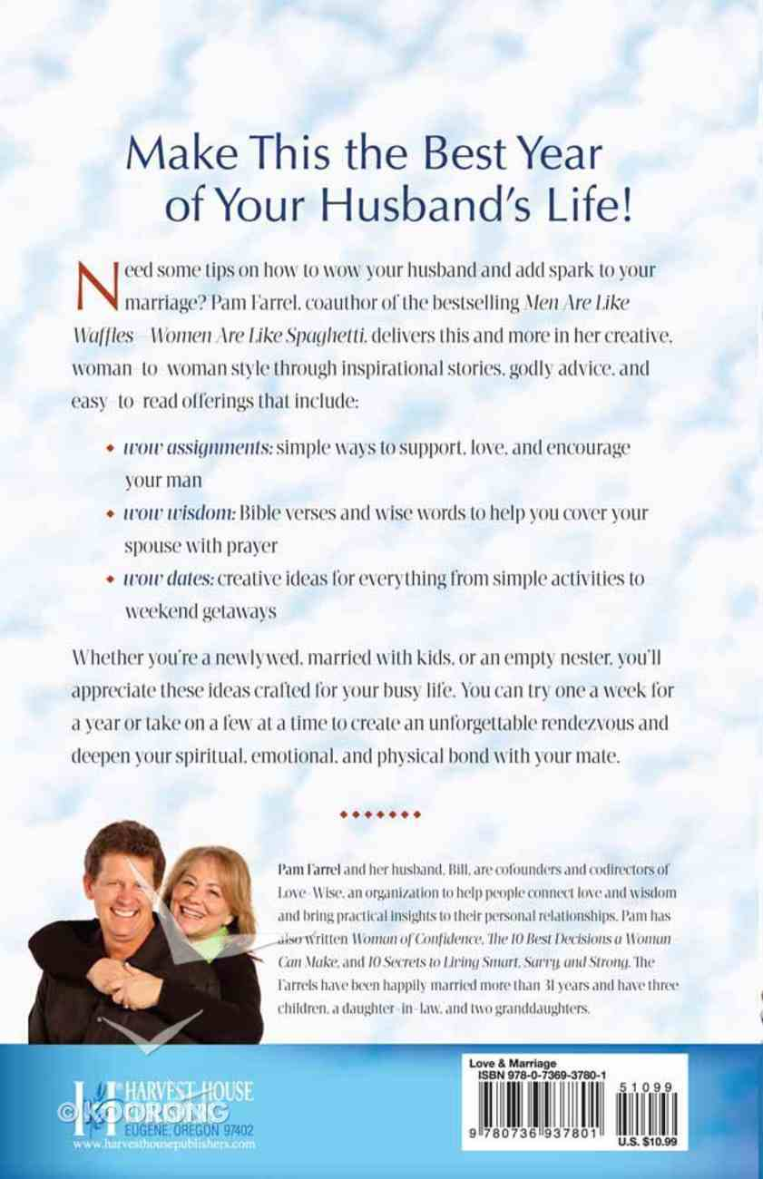 52 Ways to Wow Your Husband Paperback