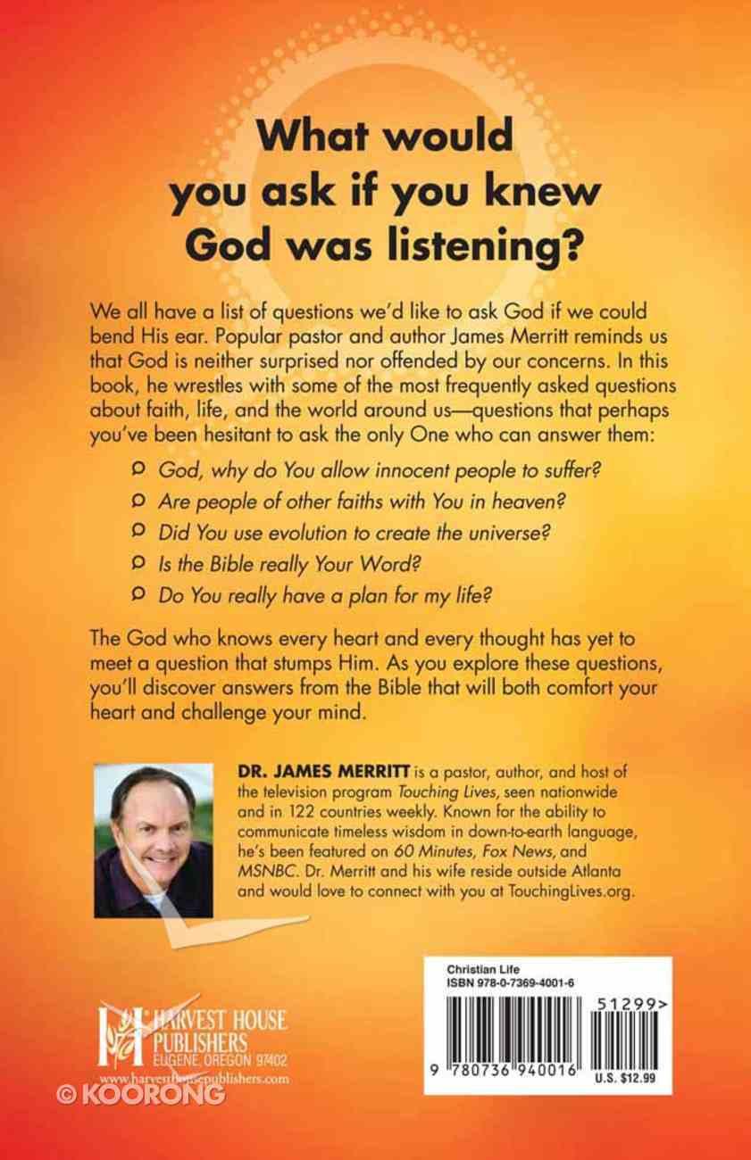 God, I've Got a Question Paperback