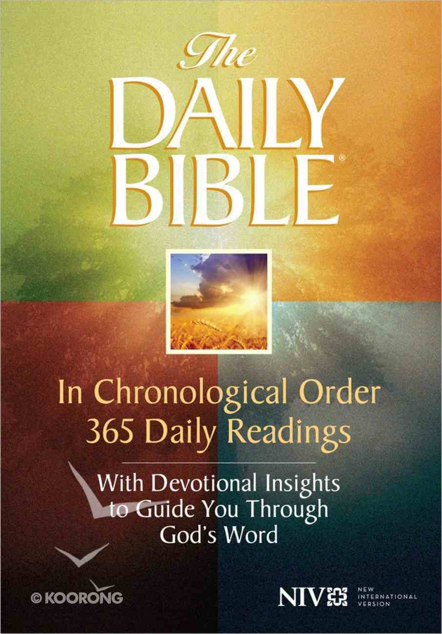 NIV Daily Bible in Chronological Order Paperback