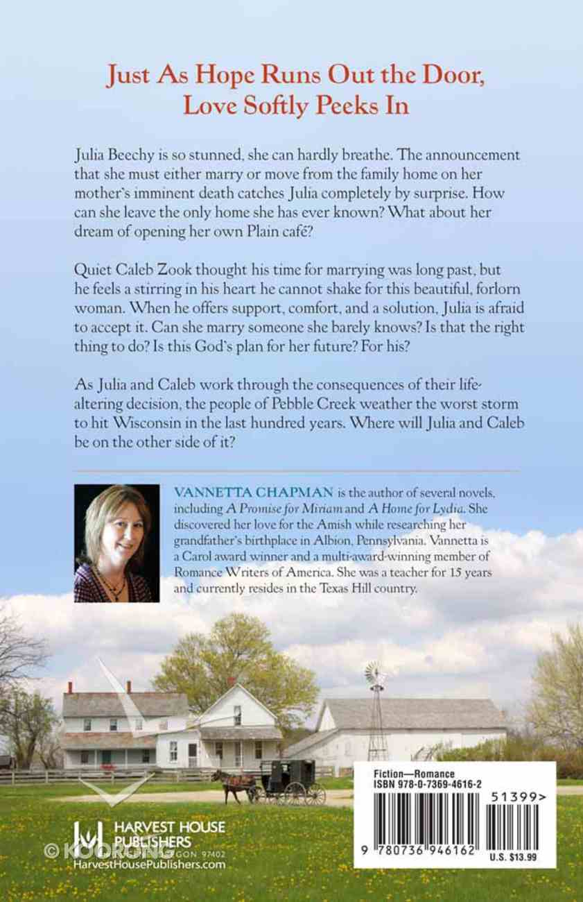 A Wedding For Julia (#03 in Pebble Creek Amish Series) Paperback