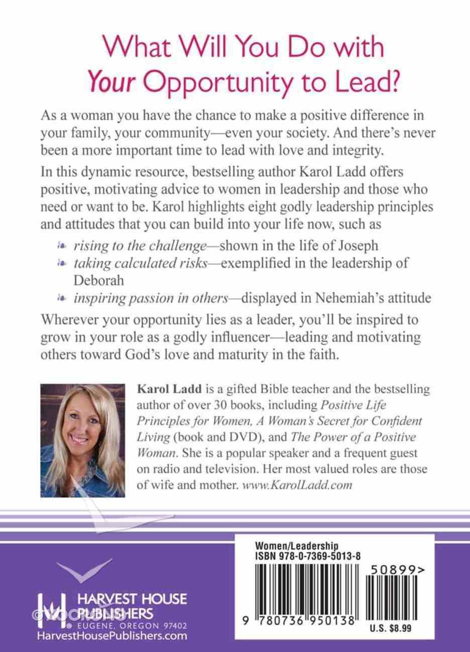 Positive Leadership Principles For Women Hardback