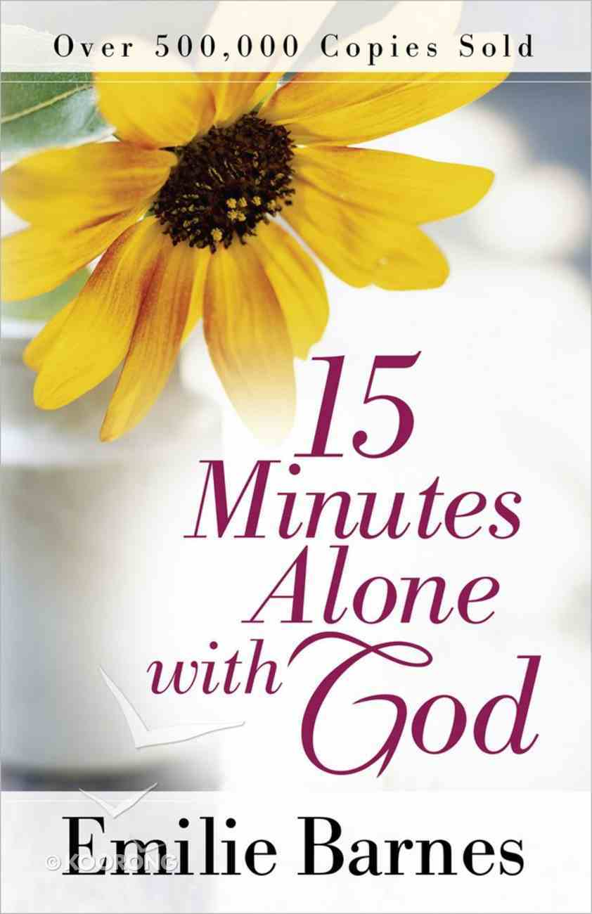 15 Minutes Alone With God Paperback