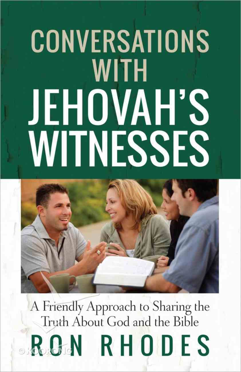 Conversations With Jehovah's Witnesses Paperback