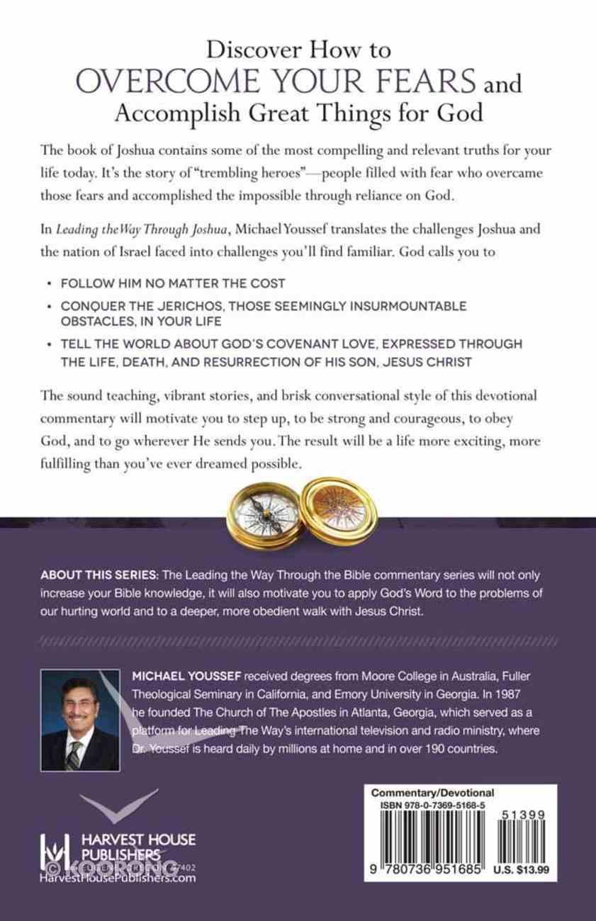 Joshua (Leading The Way Through The Bible Series) Paperback