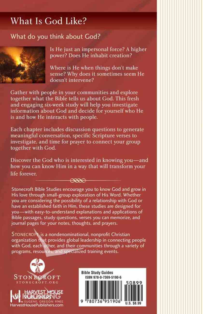 Stonecroft: What is God Like? (Stonecroft Bible Studies Series) Paperback