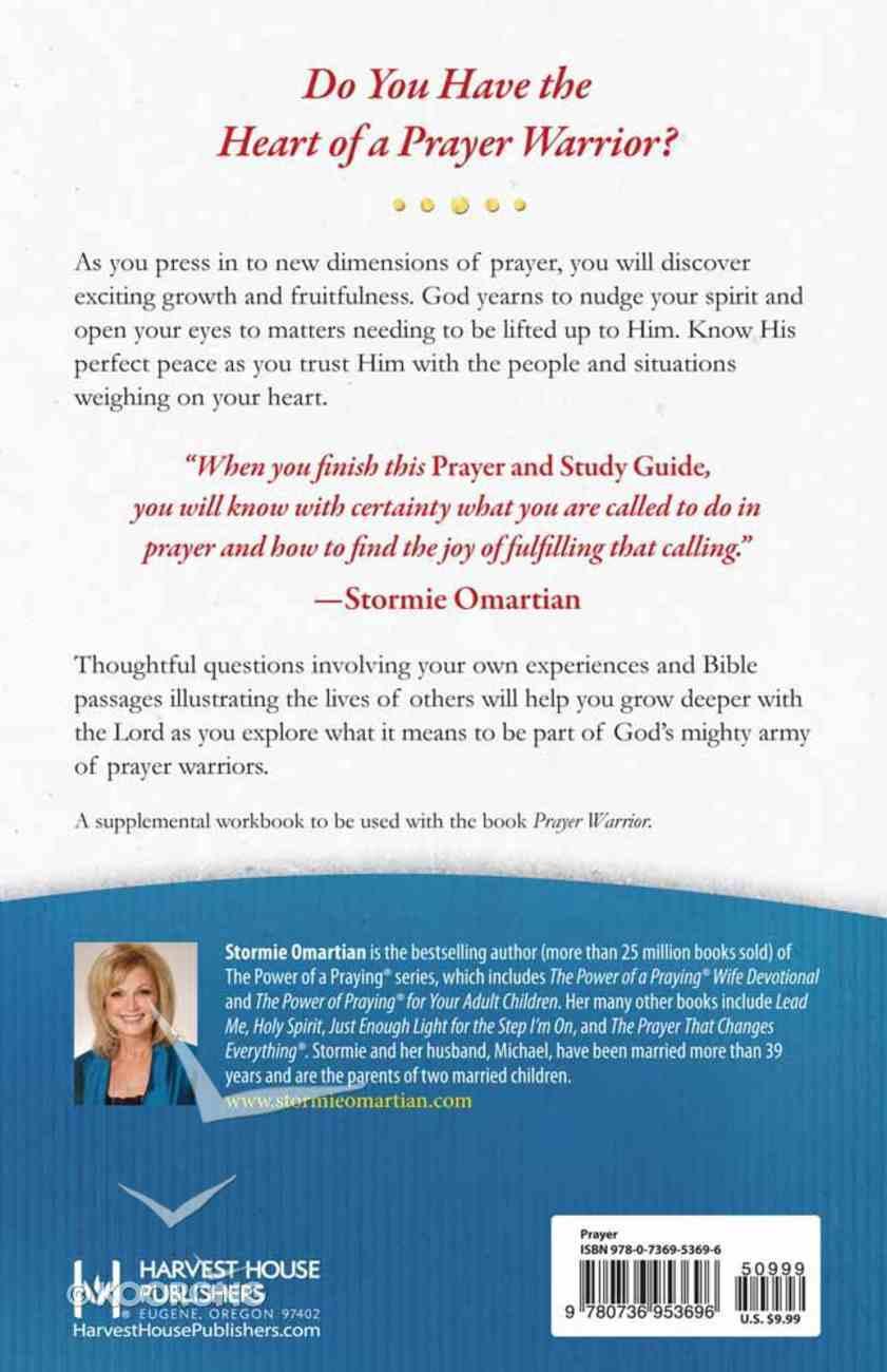 Prayer Warrior (Prayer And Study Guide) Paperback