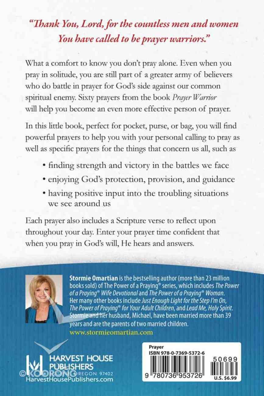 Prayer Warrior Book of Prayers (Book Of Prayers Series) Mass Market