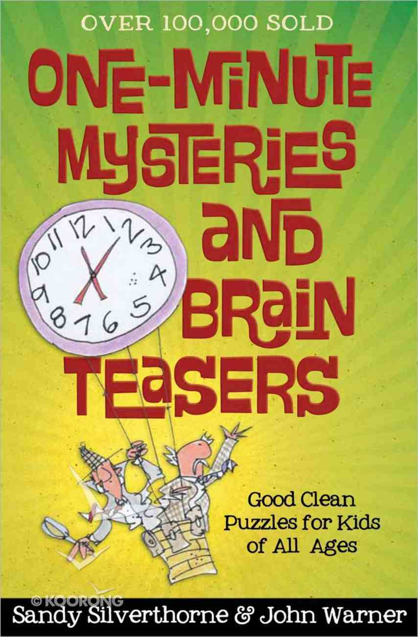 One-Minute Mysteries and Brain Teasers Paperback