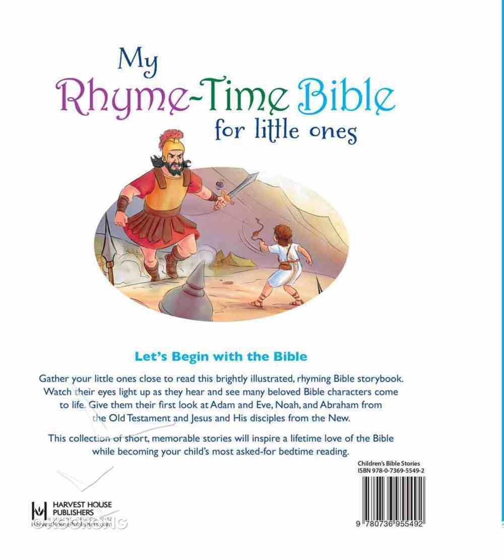 My Rhyme-Time Bible For Little Ones Hardback