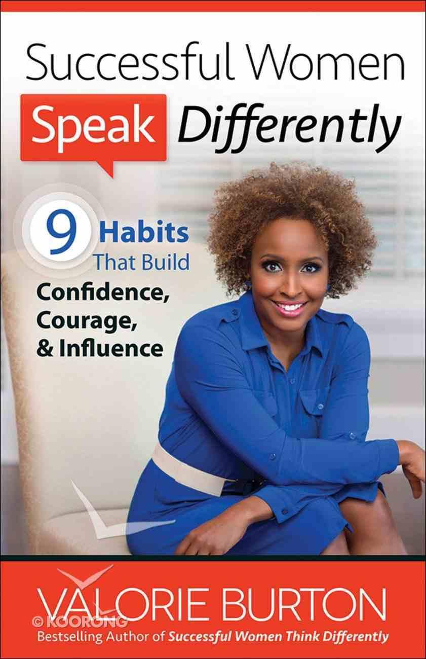Successful Women Speak Differently Paperback