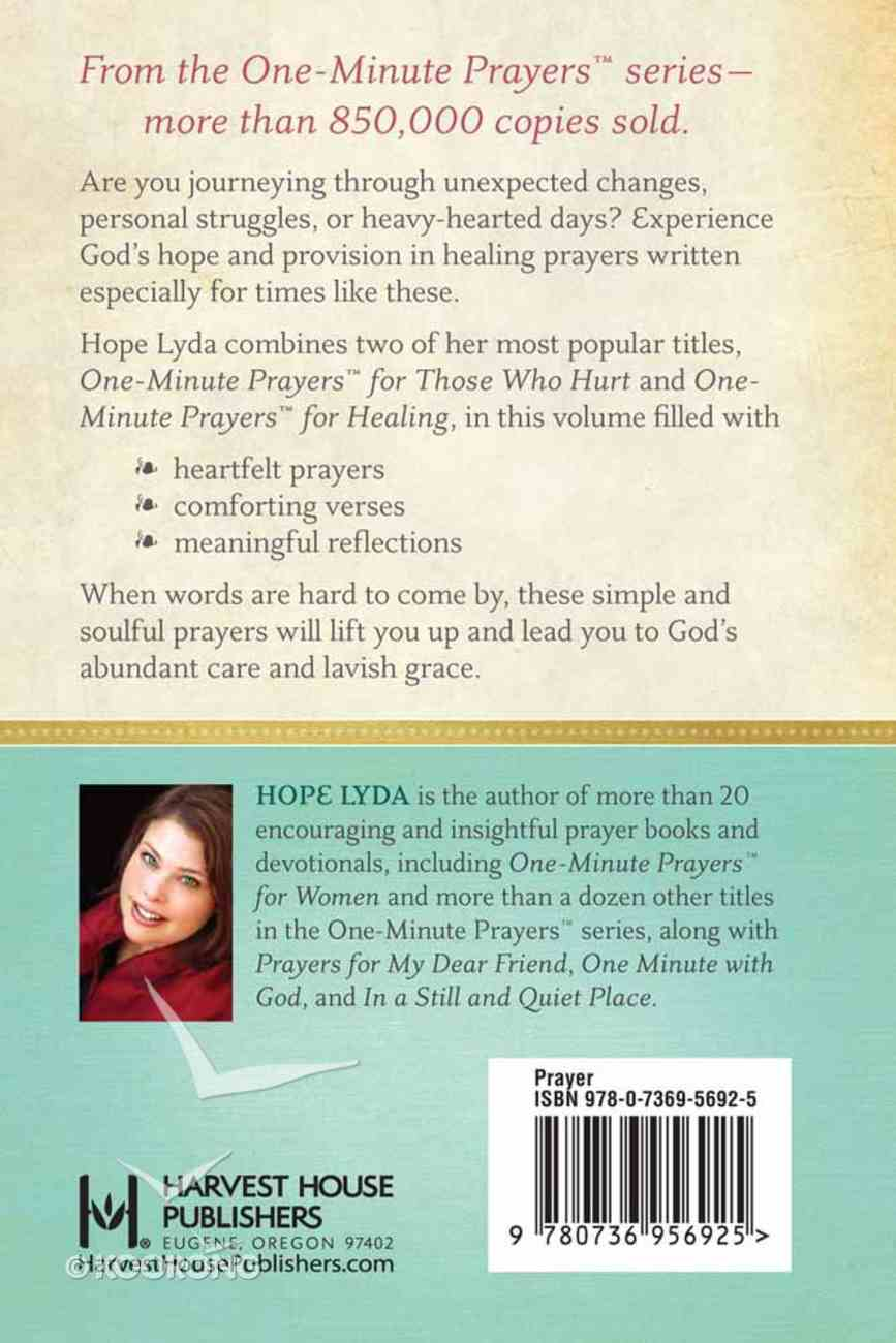 One-Minute Prayers For Comfort and Healing Hardback