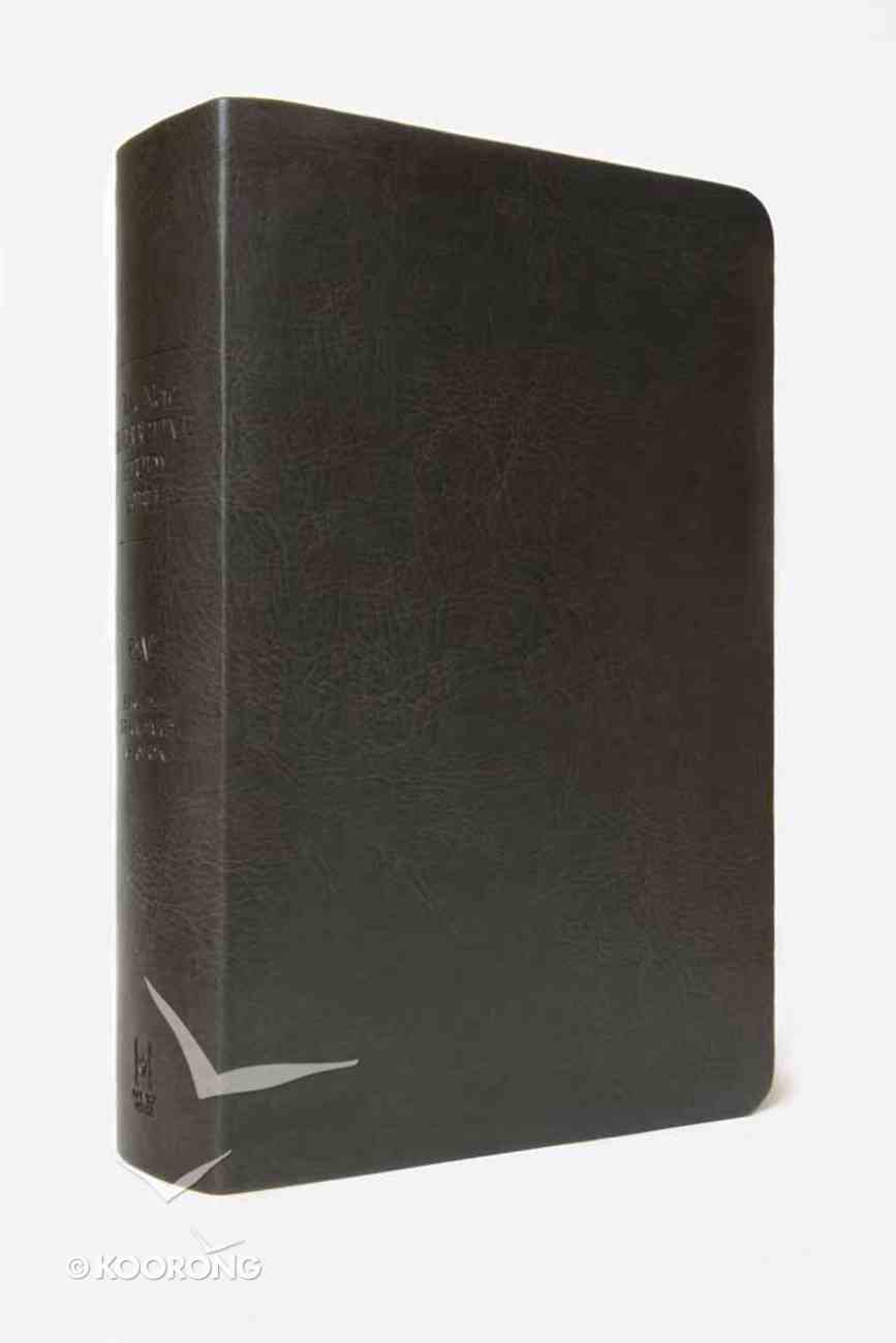ESV New Inductive Study Bible Gender Neutral Milano Charcoal Imitation Leather