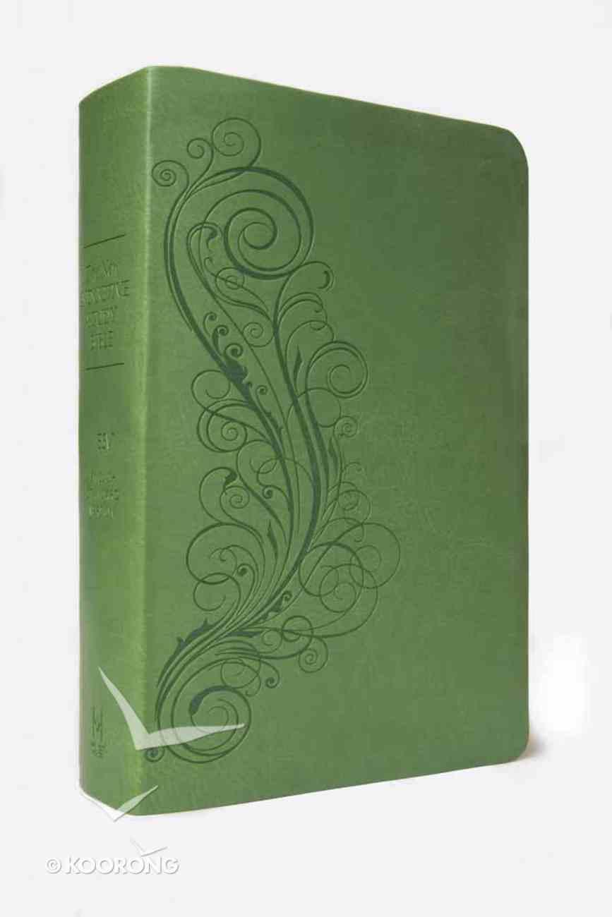 ESV New Inductive Study Bible Feminine Milano Green Imitation Leather