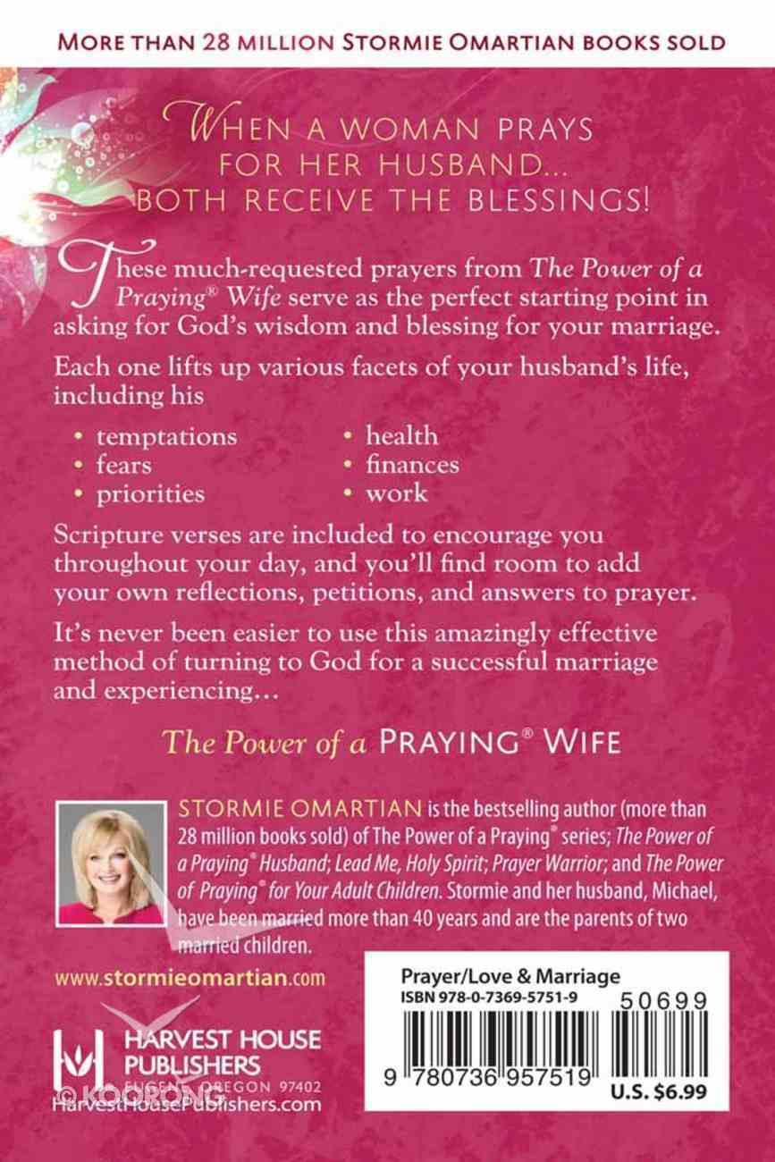 The Power of a Praying Wife (Book Of Prayers Series) Paperback