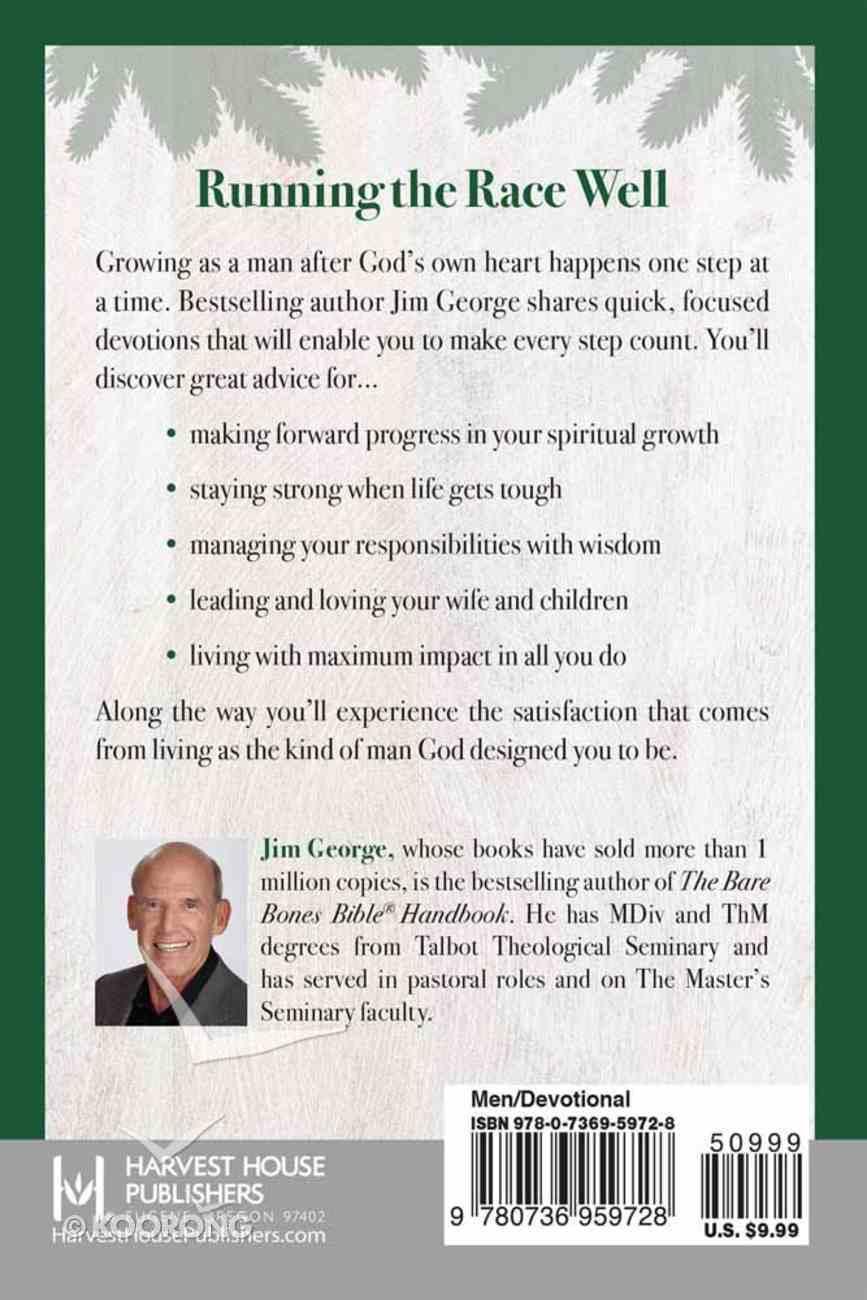 A Man After God's Own Heart (A Devotional) Hardback