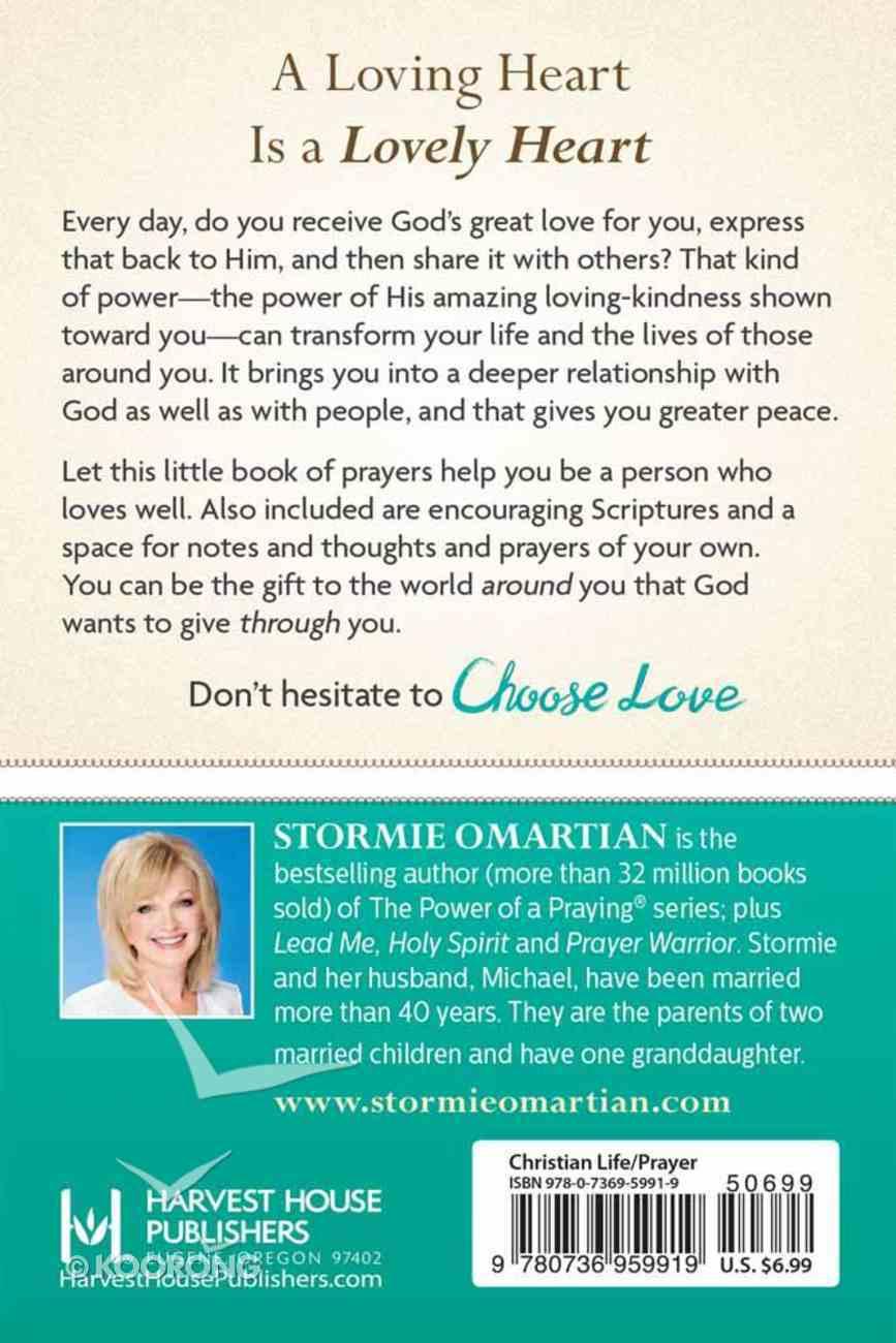 Choose Love (Book Of Prayers Series) Paperback