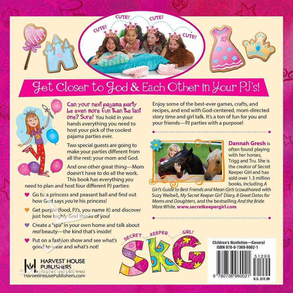 Pajama Party (Secret Keeper Girl Series) Paperback