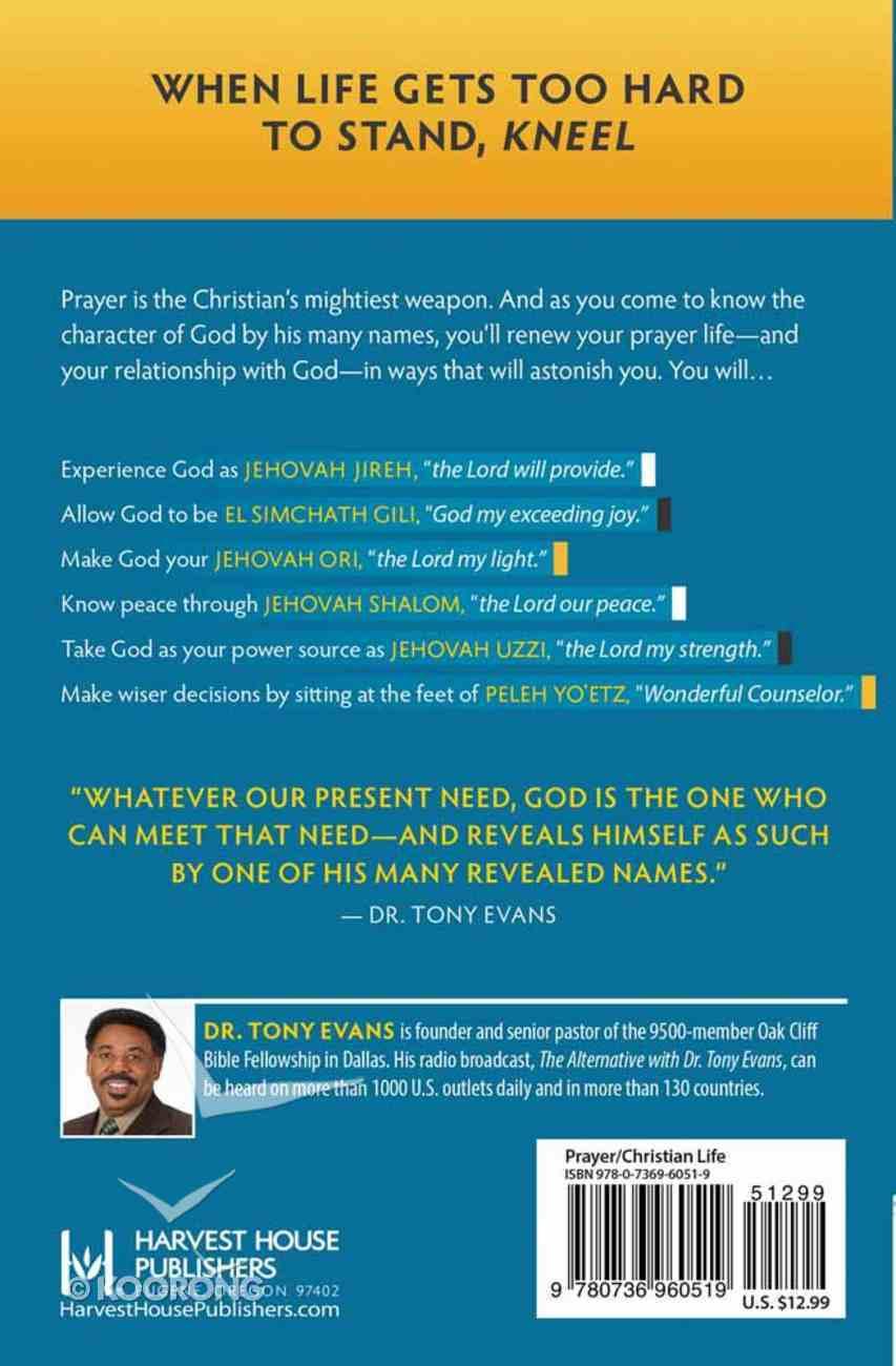 Praying Through the Names of God Paperback