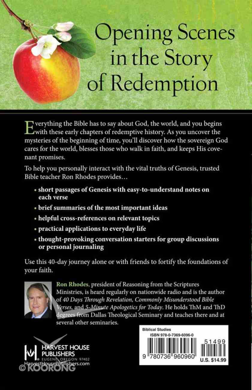 40 Days Through Genesis: Discover the Story That Started It All Paperback