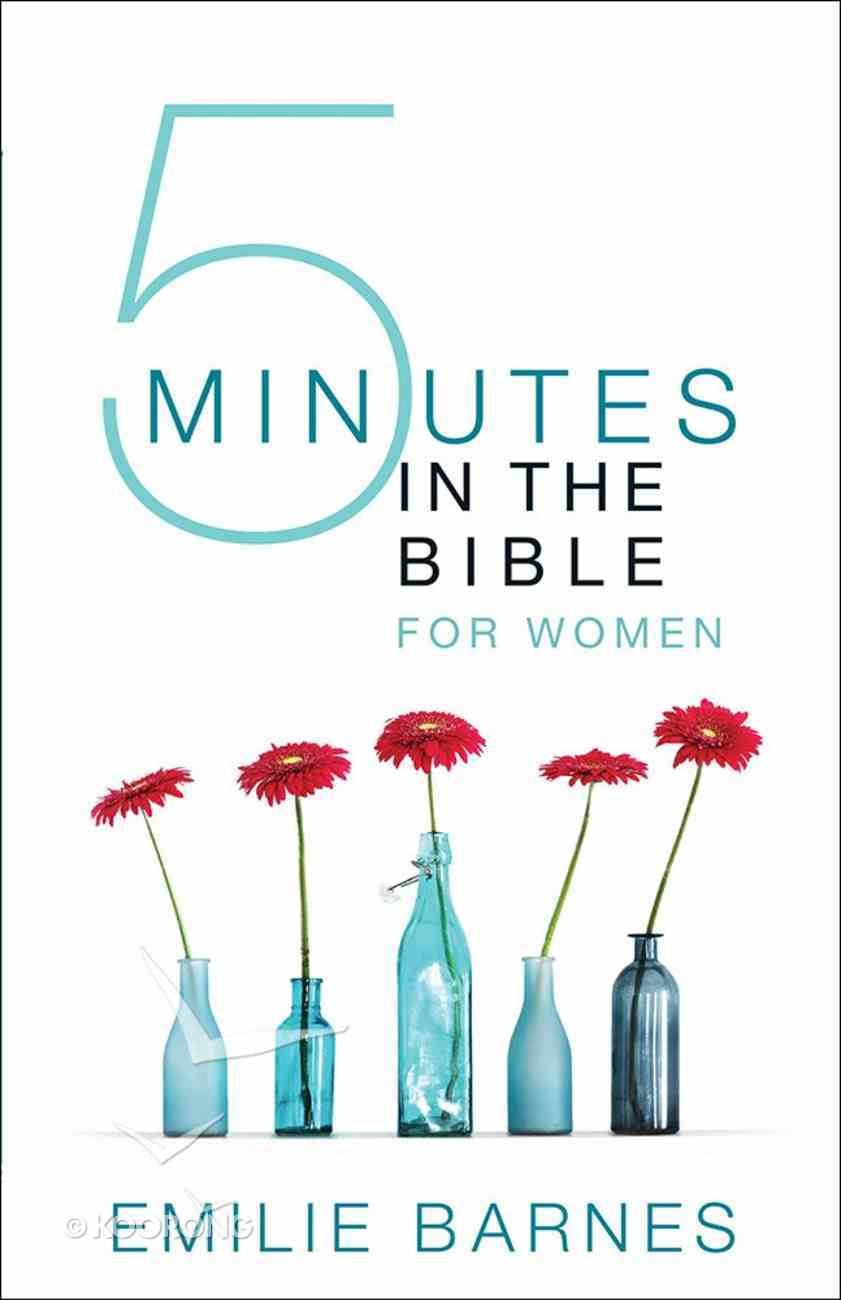 Five Minutes in the Bible For Women Paperback