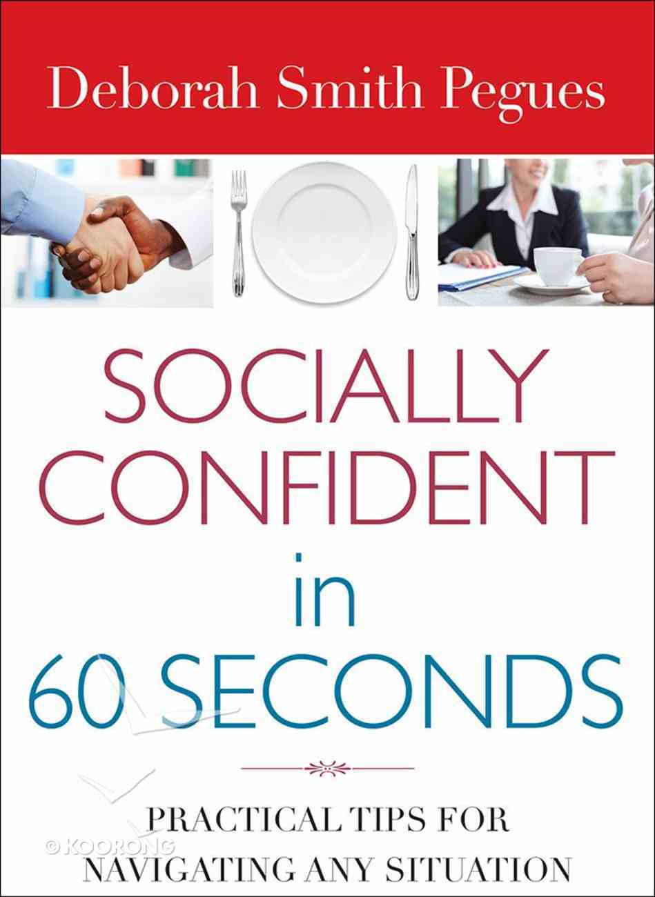 Socially Confident in 60 Seconds Paperback