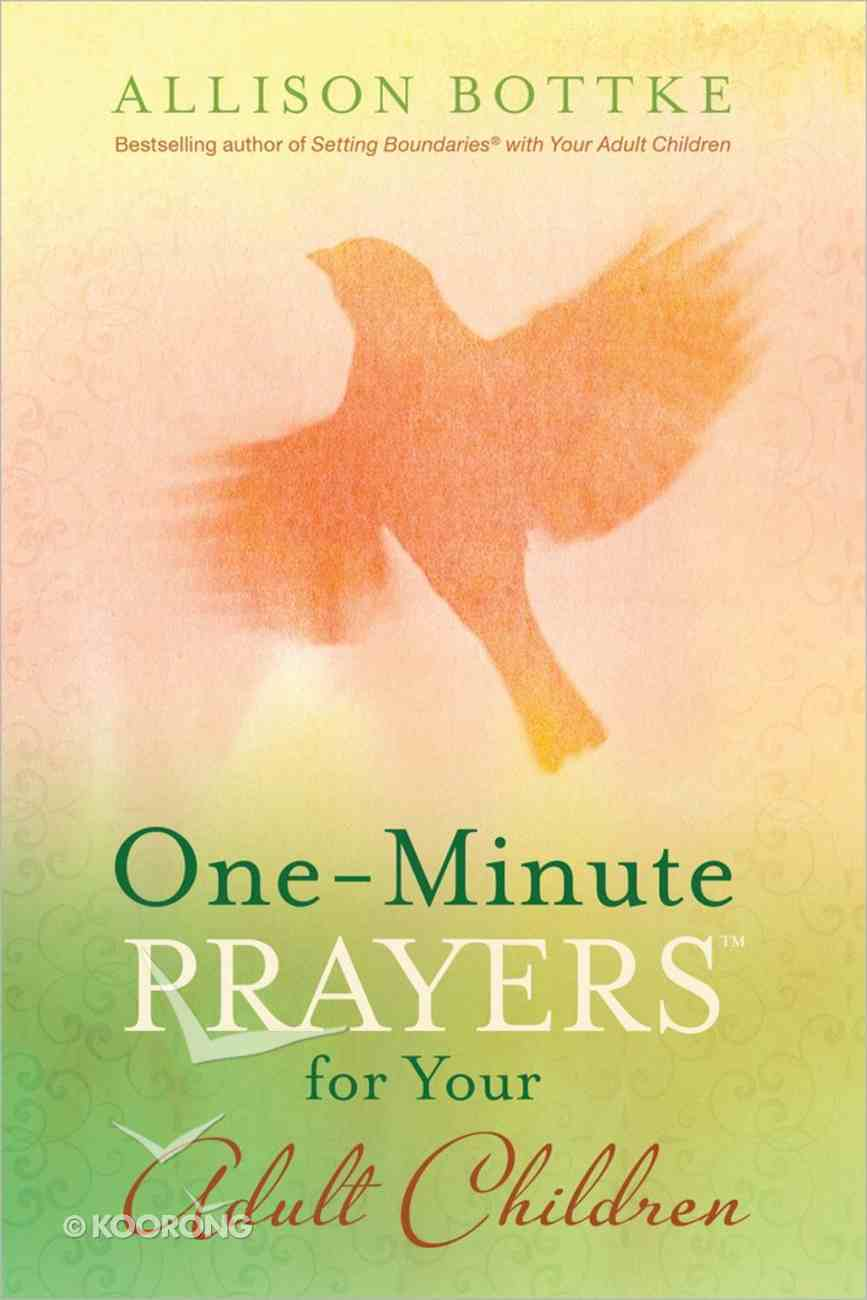 One-Minute Prayers For Your Adult Children Hardback