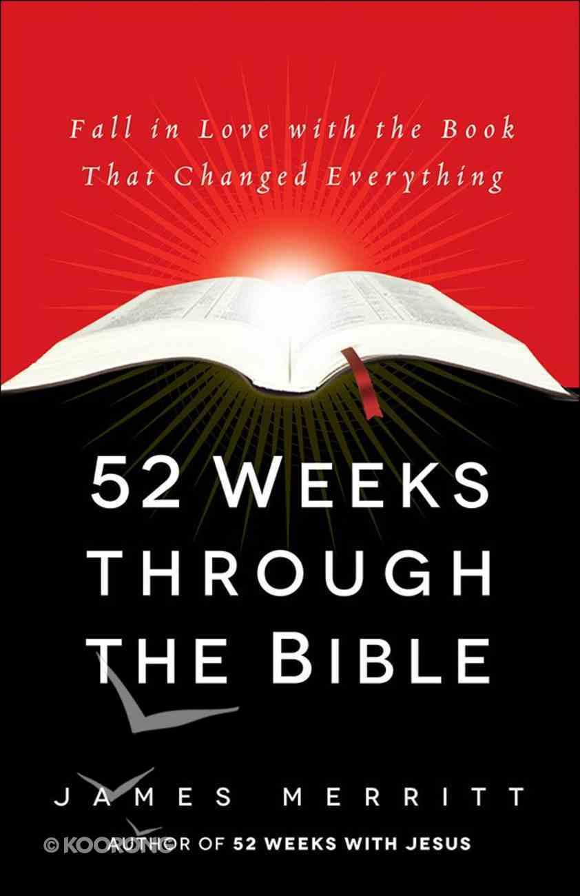 52 Weeks Through the Bible Hardback