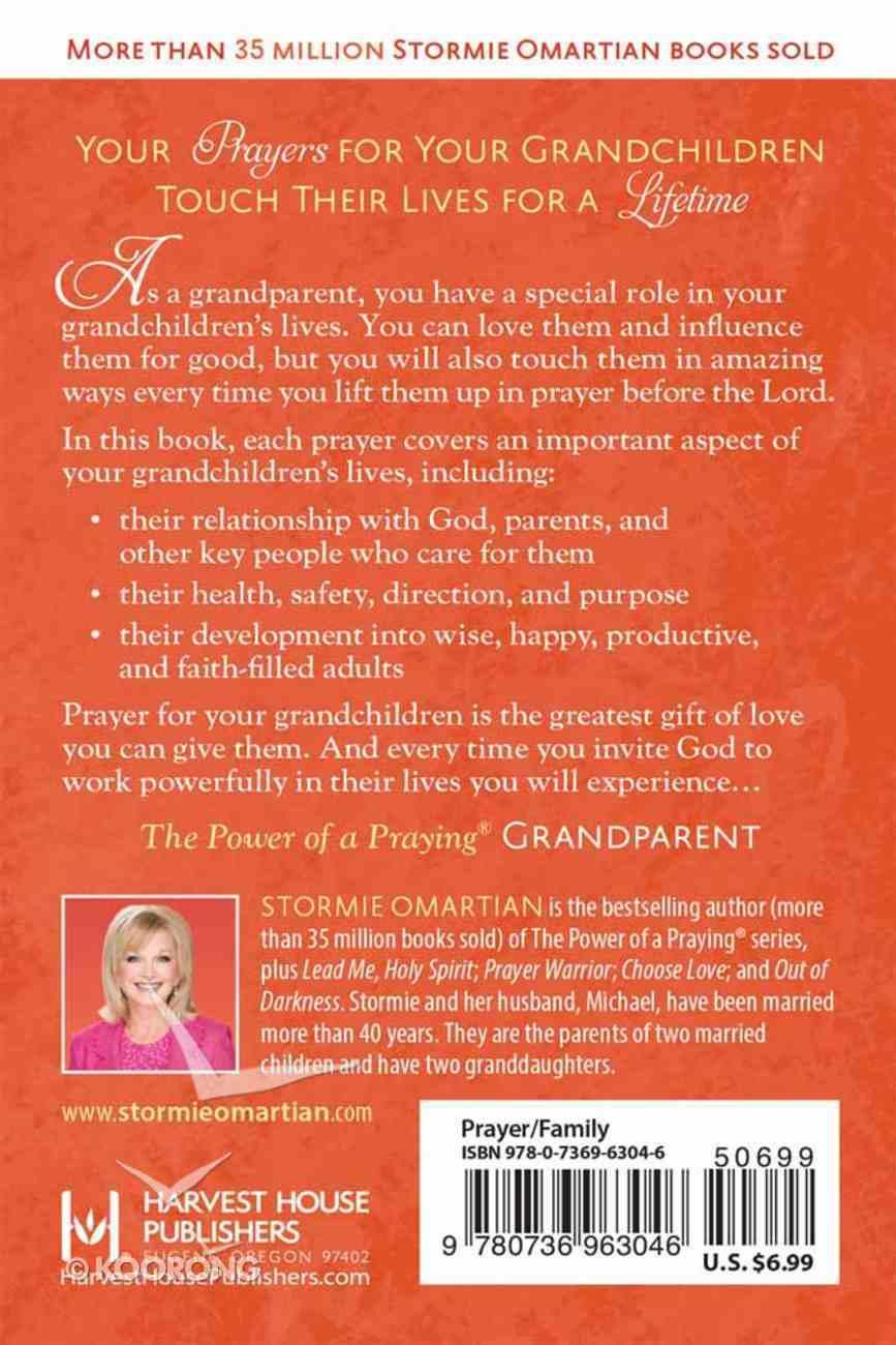 The Power of a Praying Grandparent (Book Of Prayers Series) Mass Market
