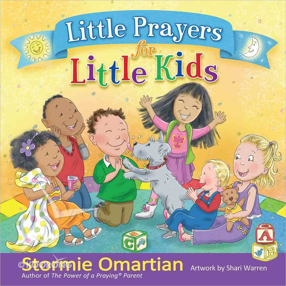 Little Prayers For Little Kids Hardback