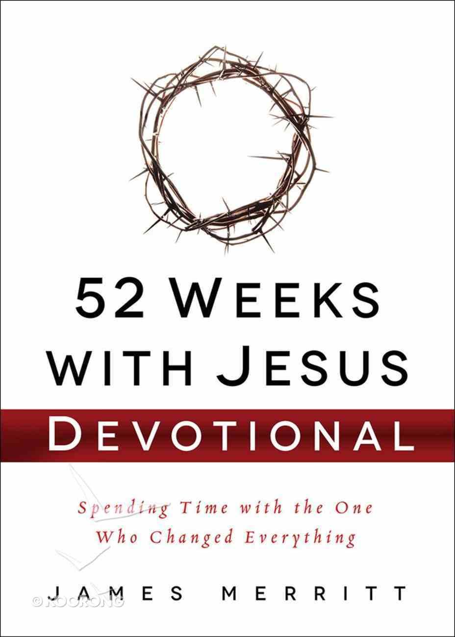 52 Weeks With Jesus Devotional Hardback