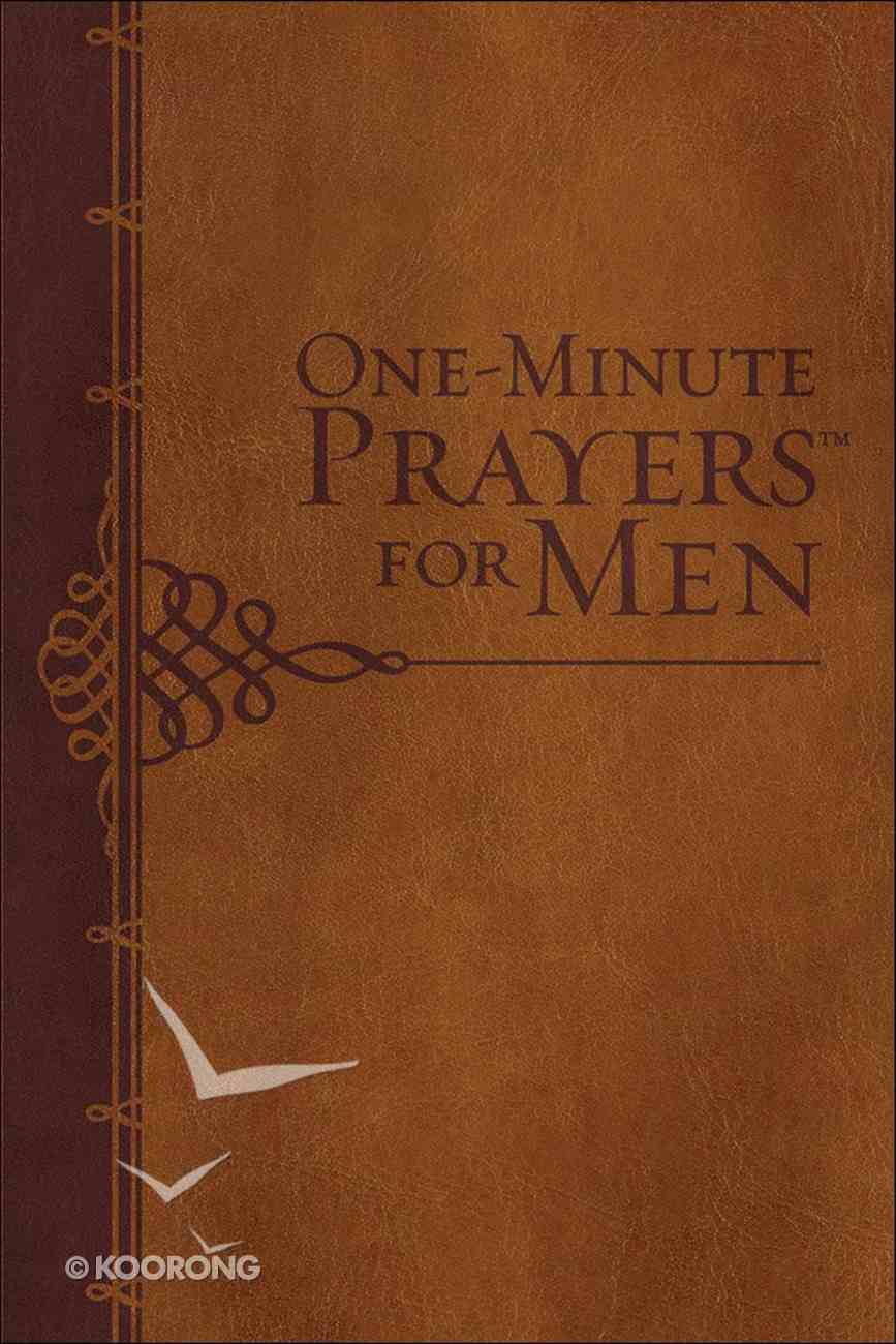 One-Minute Prayers For Men (Gift Edition) Imitation Leather