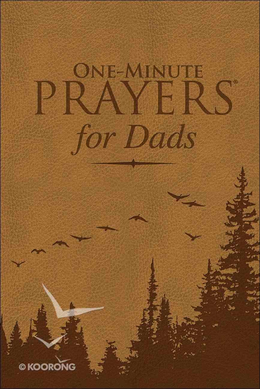 One-Minute Prayers For Dads Imitation Leather