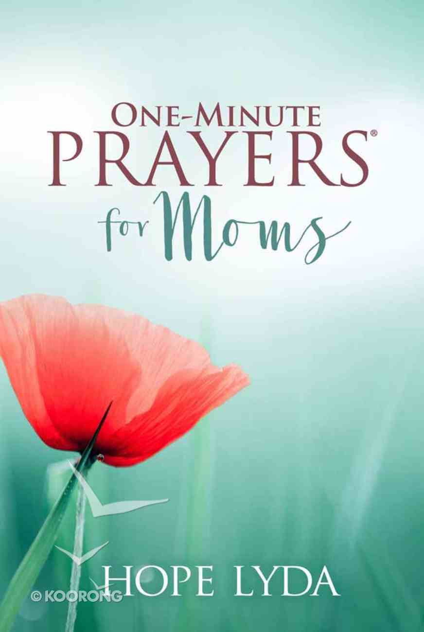 One-Minute Prayers For Moms Imitation Leather