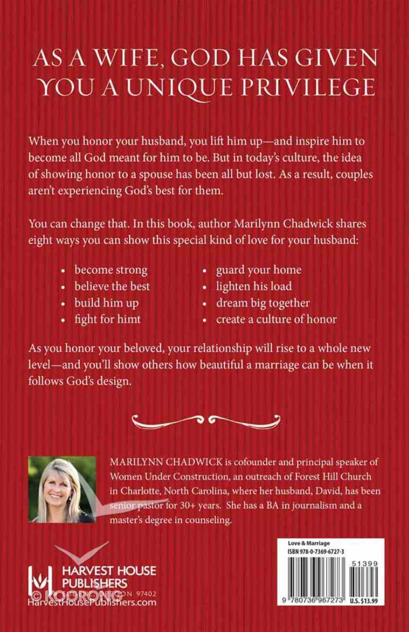 Eight Great Ways to Honor Your Husband Paperback