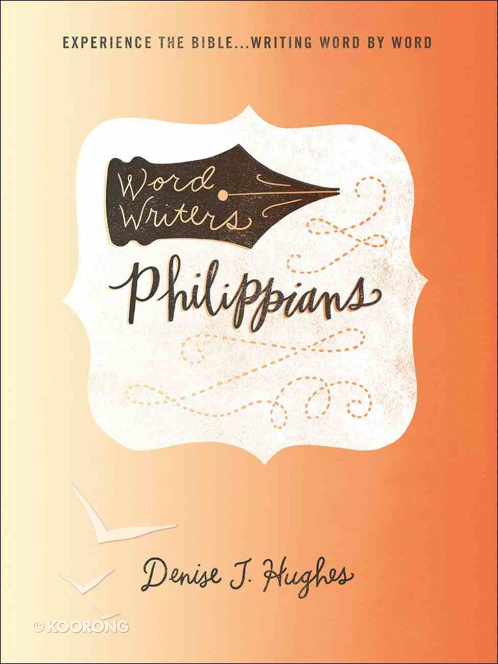 Word Writers: Philippians Paperback