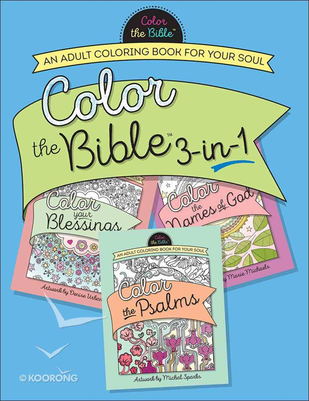 Color the Bible Volume #01 (Adult Coloring Books Series) Paperback