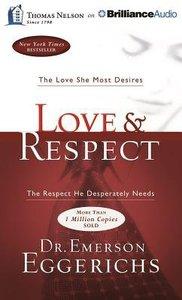 Album Image for Love & Respect (Unabridged, 8 Cds) - DISC 1